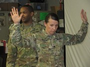 Staff Sgt Clayton and Sgt. McCall Demonstrating techniques.
