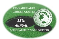Kankakee Area Career Center 15th Annual Scholarship Golf Outing Logo