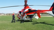 Medivac Day with Fire Rescue Students