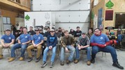 KACC Auto Technology Students who attended.