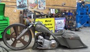 Picture of Motorcycle featured in article.
