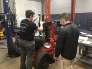 Auto Tech Students Back to Work
