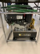 Hurst Jaws of Life Hydraulic Power Generator and hydraulic hose