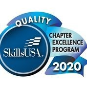 Picture of SkillsUSA Illinois Quality Chapter Excellence Program Badge for 2020